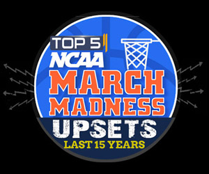 Top 5 NCAA March Madness Upsets in the Last 15 Years