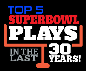 Top 5 Plays in the Last 30 Years of NFL Super Bowl History - SportsBettingOnline.ag
